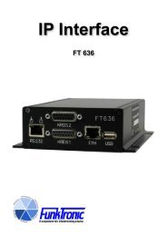 IP Interface - Funktronic