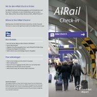 AIRail - Frankfurt Airport