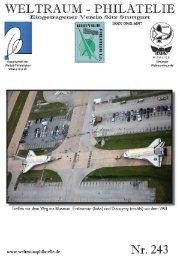 243 Heft CH-SPN Seiten - Gesellschaft der Weltall-Philatelisten, CH