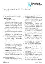 Bed.buergschaftsvertrag anlage1 01012011 - Bürgschaftsbank NRW