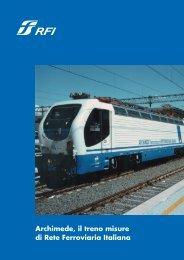 Archimede, il treno misure di Rete Ferroviaria Italiana - Rfi