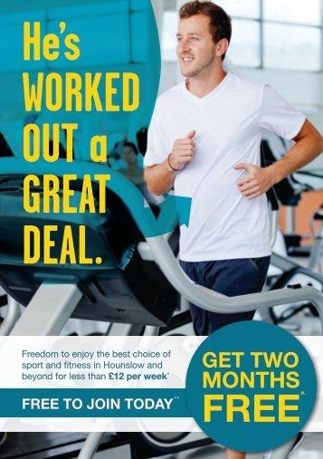 the promotional leaflet - Fusion Lifestyle