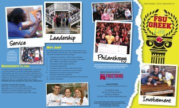 Greek Life Brochure 14x8.5 12-12.indd - Frostburg State University