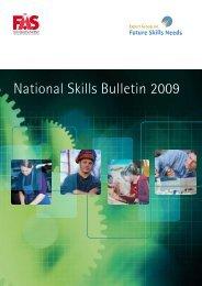 National Skills Bulletin 2009
