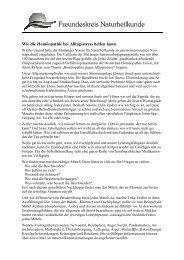 Pressemitteilung Vortrag Homöopathie bei Alltagsstress