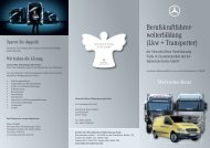 6150310 Flyer Weiterbildung II.indd - Mercedes-Benz ...