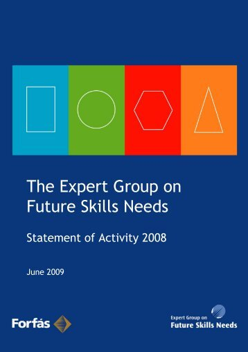 PDF, 18 pages, 300KB - Skills Ireland