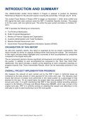 Eleventh Quarterly Report, May - July 2012 - Eng - Frp2.org - Page 7