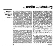 und in Luxemburg - Forum – für Politik, Gesellschaft und Kultur in ...