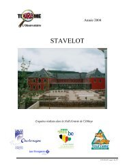 STAVELOT - Fédération du Tourisme de la Province de Liège
