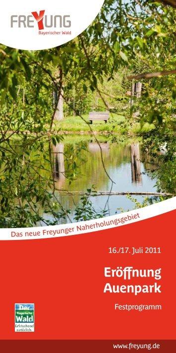 Eröffnung Auenpark
