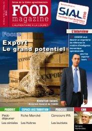 Export de produits marocains - FOOD MAGAZINE