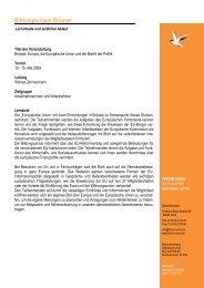 Programm Bruessel 2009 - Forum Unna