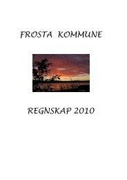 FROSTA KOMMUNE REGNSKAP 2010 - Frosta kommune - Domene