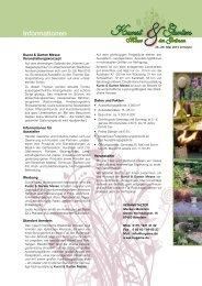 KuGaMe 2013 Info+Anmeldung.pdf - Kunst & Garten Messe Arnstein