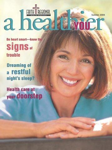 Summer 04 - Faith Regional Health Services