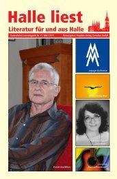 Vorgestellt: Gerd Meyer - Halle liest - Projekte-Verlag Cornelius