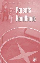 Parents Handbook (PDF) - Frostburg State University