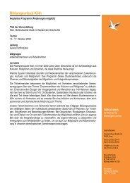Programmablauf Köln - Forum Unna