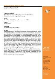 Programmablauf Bildungsurlaub Oberschlesien 2013... - Forum Unna