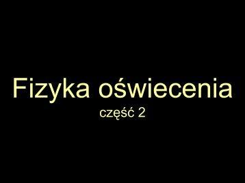 Fizyka oświecenia cz.2