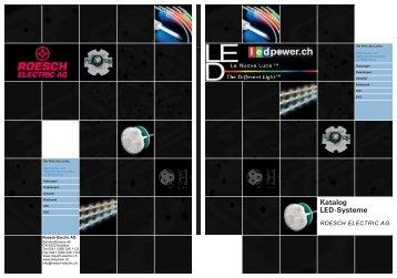 Katalog LED-Systeme