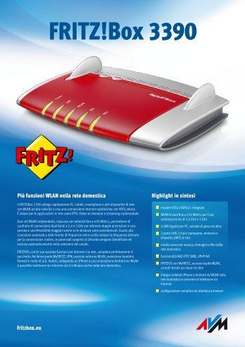 Data sheet FRITZ!Box 3390 [pdf]