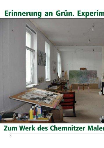 Erinnerung an Grün. Experimentale Male - Galerie Laterne
