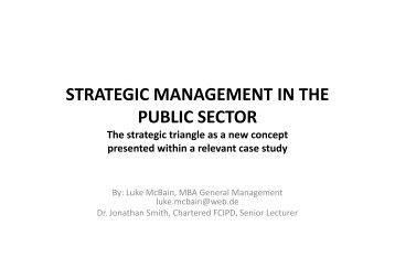 dissertation on quality management in public sector Total quality management and organisational peformance in  this dissertation is dedicated to my mother  332 total quality management in.