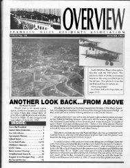 Winter issue #18 - Franklin Hills Residents Association