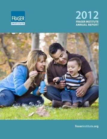 2012 Annual Report - Fraser Institute
