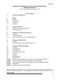 Allgemeine Verwaltungsvorschrift zum Schutz gegen Baulärm ...