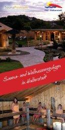 Saunaflyer_Stand 2013.indd - Freizeit- und Sportzentrum Halberstadt