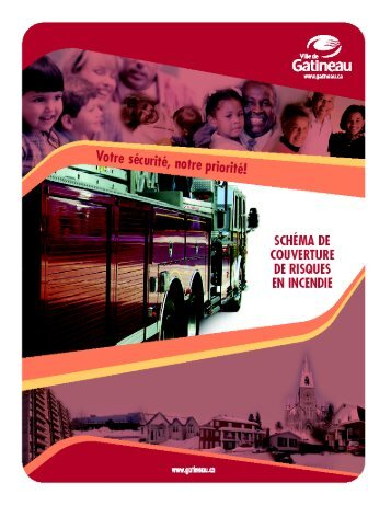 Schéma de couverture de risques en incendie - Ville de Gatineau