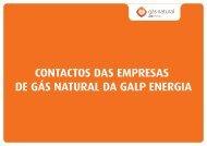 Contactos Das Empresas De Gás Natural Da Galpener - Galp Energia