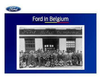 Powerpoint Ford Genk Plant