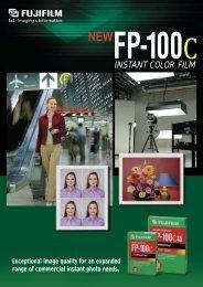 Fujicolor FP-100C Brochure