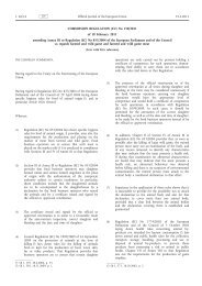 Commission Regulation (EU) No 150/2011 of 18 ... - EUR-Lex