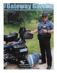 summer gazette 2004 - Gateway Riders Index