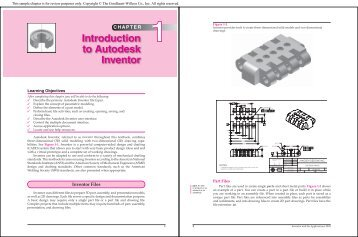 Chapter 1 Introduction to Autodesk Inventor - Goodheart-Willcox