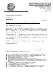 Resolution - Verband Psychologischer Psychotherapeutinnen und