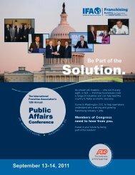 Solution. - International Franchise Association