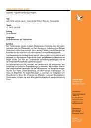 Programmablauf Juist 2008 - Forum Unna
