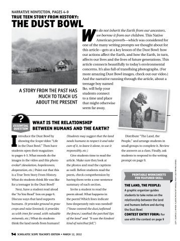 TEACHING IDEAS PAGES 6