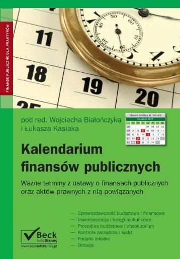 Kalendarium finansów publicznych - Gandalf