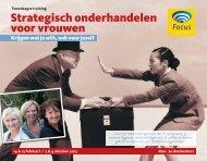 Strategisch onderhandelen voor vrouwen - In Touch women ...