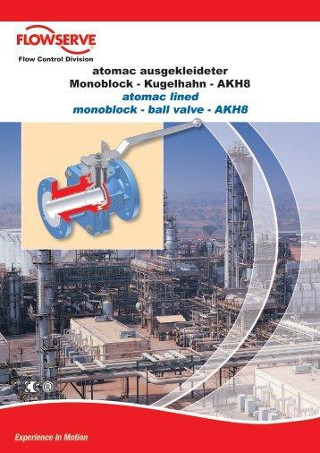 ball valve - AKH8 - Flowserve