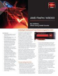 ATI FirePro™ W9000 Data Sheet - AMD