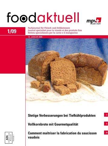 foodaktuell 1 2009 druck - Foodaktuell.ch