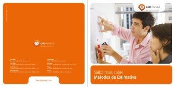 Métodos de Estimativa Download pdf, 178KB - Galp Energia